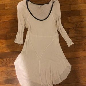 Free People thin white blouse